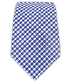 Petite Gingham - Royal Blue (Cotton) | Ties, Bow Ties, and Pocket Squares | The Tie Bar