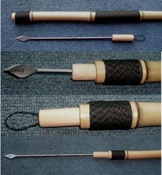 How to make your own custom hiking staff, with survival items concealed inside.