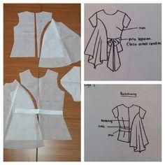 Tops pattern with assymetry side as seen. Order by click our link / line : modelliste #modellistepattern#poladress#dresspattern#jualpola#polaonlineshop#patternonlineshop#patterndrafting#polabaju#pola#sleevepattern#polatangan#polaatasan#topspattern#shirtpattern#polakemeja#polakebaya#polakutubaru#kebaya#kutubaru#polatile#polabasetile#assymetrytop#atasanasimetri