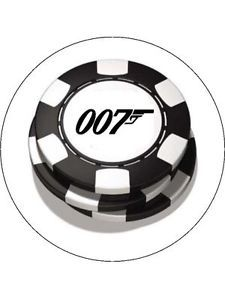 James Bond 007 Chips Icing/Frosting Toppers/Decorations for Cakes VARIOUS SIZES | eBay
