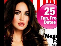 Megan Fox on the Cover of Cosmo Makeup Tutorial naked palette