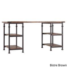 Myra Vintage Industrial Storage Desk