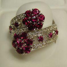 Diamond Jewel Rings
