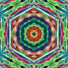 Fractal Flora mixed media My Organic mandala serie Flora, Mandala, Mixed Media, My Arts, Organic, Gallery, Drawings, Artwork, Painting