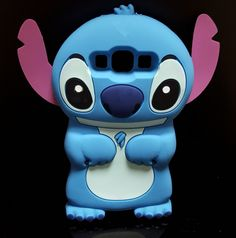 Cute 3D Cartoon Stitch Soft Silicone Back Cover Lilo Stitch Case For Samsung Galaxy A5 A500 E5 E500 J5 J500 - Samsung Galaxy J1 Cases - Samsung J1 J5 J7 Cases - Samsung Cases