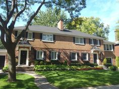 An inspected semi-detached house in Montreal by David Meredith, Home Inspector.