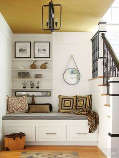18 Clever Ways to Add Storage Around Staircases