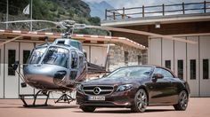 The New Mercedes-Benz E-Class Cabriolet Hits New Heights in the Alps – Robb Report