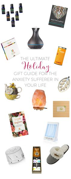 Check out this holiday gift guide or the person in your life who suffers from anxiety. Click through to read or re-pin to save for later.