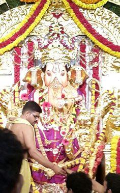 GSB Sabha Ganeshotsava Mandal at Wadala is one of the most renown in Mumbai.
