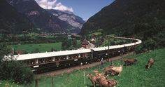 The Orient Express in Italy