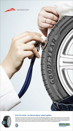 Goodyear Safety Campaign on Behance