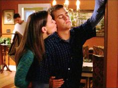 Joey and Pacey, in honor of Dawson's Creek being available on Netflix! Ha!