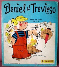 Album cromos Daniel el Travieso