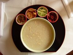 congee     Chinese Congee Porridge ( 粥 ) is delicious, and has many different flavors.