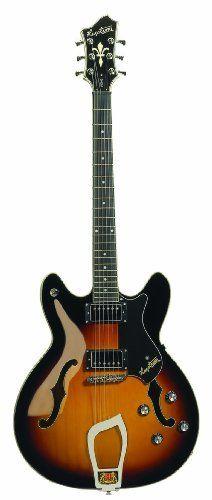 "My Baby ""The Hag"": Hagstrom Viking Electric Guitar"