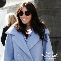 Seen at the Paris Fashion Week. #pfw #shadesoffashionweek #sunglasses