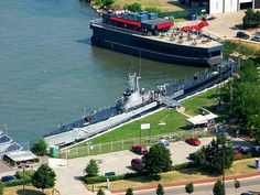 The USS Cod, docked in Cleveland. I visited this boat in 2nd grade and years later was a Submariner.