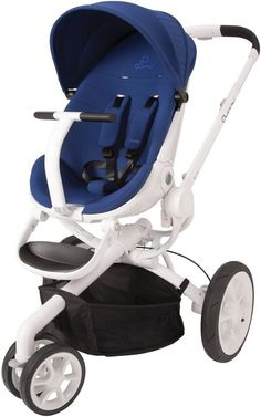 Quinny Moodd Stroller - Blue Defiance