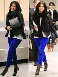 calça azul bic - Pesquisa Google