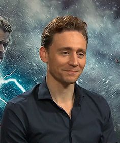 Tom apologizing because the interviewer's Tumblr dash is filled with Loki pictures. His little embarrassed eyeroll though.