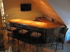 rustic bar, barn wood furniture, rustic furniture