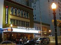 House of Blues in the Gaslamp Quarter, San Diego, CA