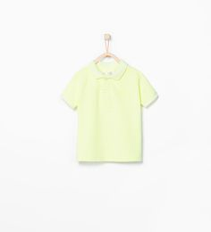 ZARA - KIDS - Organic cotton polo shirt with crest