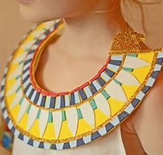 Image result for egyptian neck collars template