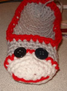 a95daa4fe34 Cheeky Monkey Booties. Crochet Booties PatternCrochet Baby ...