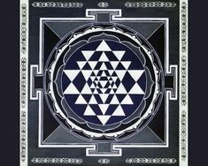 Sri Yantra, from the Tantric tradition.  Joseph Campbell describes this as a 'machine for meditation'.  Where the divine impacts the world of time, there is a shattering into pairs of opposites.  We will find this imagery in many of the 'impacts' made on surfaces in The Matrix.