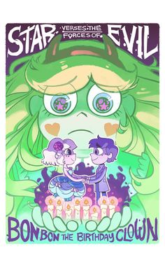 """New Episode!!! The 22 minute mid-season finale you've all been waiting for! S2, Episode 14: Bon Bon the Birthday Clown Watch S2 episode 14 of """"Star vs. the Forces of Evil"""" monday November 21st at 7:30pm/6:30c on Disney XD! Official S2 show poster by..."""