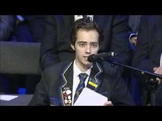 Student delivers amazing speech after being diagnosed with lymphoma