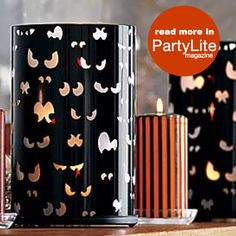 Glam up your home for Halloween! #PartyLite #candles