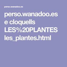 perso.wanadoo.es e cloquells LES%20PLANTES les_plantes.html