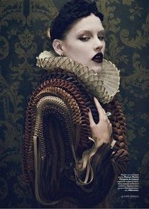 spanish_collar #elizabethan beauty