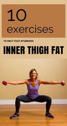 10 Exercises To Melt That Stubborn Inner Thigh Fat - Core Workout Lose Thigh Fat, Lose Belly Fat, Lose Fat, Inner Thight Workout, Inner Thigh Exercises, Workouts For Inner Thighs, Thigh Gap Exercise, Best Inner Thigh Workout, Men Exercise