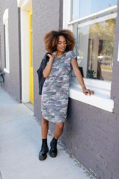 modest dresses, camo dress, modest fashion