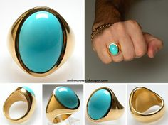 turquoise gold jewelry - Google Search