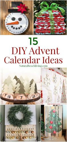 15+ Unique Handmade Advent Calendar Ideas, Christmas Countdown, DIY Advent Calendars for Christmas, Christmas Kindness, Christmas Book Advent, Kids Christmas Advent Ideas #Christmas #Adventideas #Christmascrafts