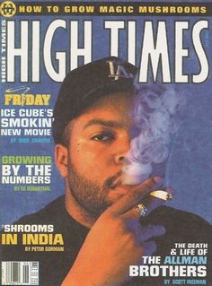 "Ice Cube's love of MJ isn't a big secret. He wrote and starred in the stoner comedy, Friday. His biggest hit song, ""It Was a Good Day,"" is exactly 4:20 long and includes the lyrics, ""It's ironic, I had the brew, she had the chronic / The Lakers beat the Supersonics. Check out the profile of him on my blog: http://www.marijuanamerica.net/celebrity-stoner-friday-ice-cube."
