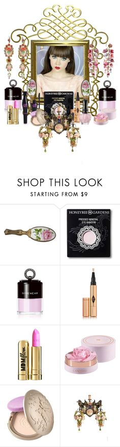 """""""fair complexion"""" by snowmoon ❤ liked on Polyvore featuring beauty, Silent Night, HoneyBee Gardens, Givenchy, Charlotte Tilbury, Anna Sui, MDMflow, Balsem and Michal Negrin"""