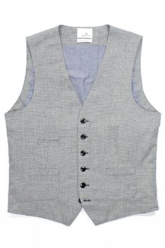 A.B.C.L. Garments Vest 9101 Cotton/Linen Houndstooth : SUNSETSTAR Edwin Jeans, Houndstooth Fabric, Red Wing Shoes, Japanese Denim, Workout Accessories, Vintage Inspired Dresses, All Brands, Cotton Linen, Dress Making