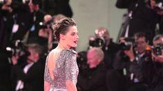 SLOMO of Kristen Stewart & Nicholas Hoult at Equals Red Carpet at the Ve...
