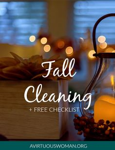 Free Printable Fall Cleaning Checklist for Your Home Fall Cleaning Checklist, Fall Checklist, House Cleaning Tips, Spring Cleaning, Cleaning Hacks, Cleaning Schedules, Cleaning Lists, Organized Mom, Getting Organized