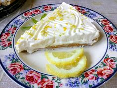 61465000_2346604518995186_2060707218218549248_n Lemon Recipes, Greek Recipes, Cheesecake, Greek Sweets, Mediterranean Recipes, Food To Make, Smoothies, Deserts, Cooking Recipes