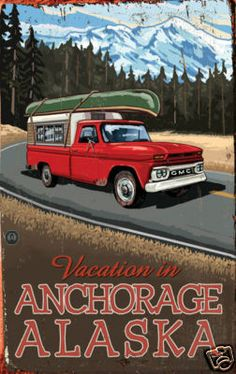 Anchorage Alaska Poster