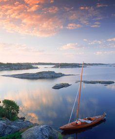 Stockholm archipelago,Sweden: