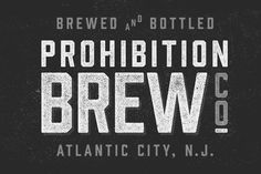 Prohibition Typeface ~ Display Fonts on Creative Market