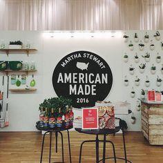 Unique Footprint at the 2016 New York Holiday Fair. Martha Stewart American Made (sponsor).